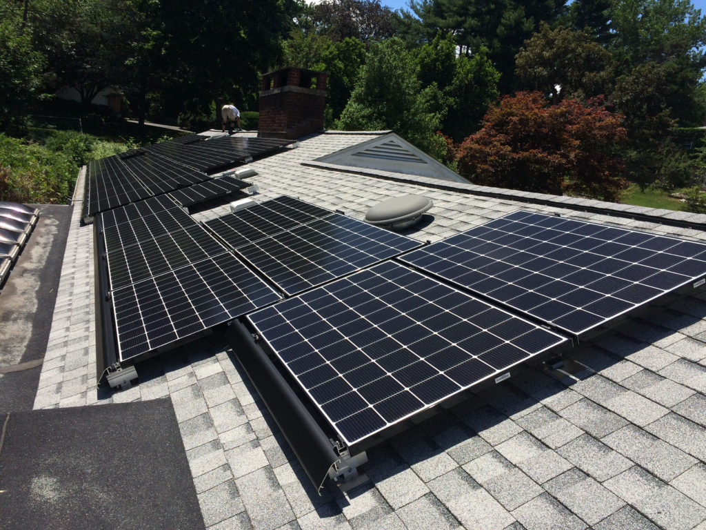Flat Roof Skirt : Solar on obstructive roofs croton energy group